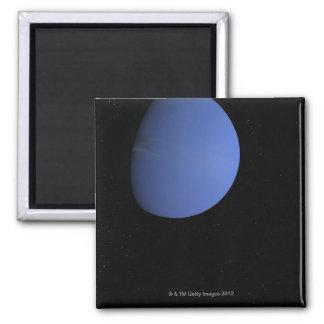Digital Illustration of Neptune Square Magnet
