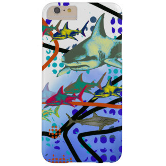 digital illustration of sharks barely there iPhone 6 plus case