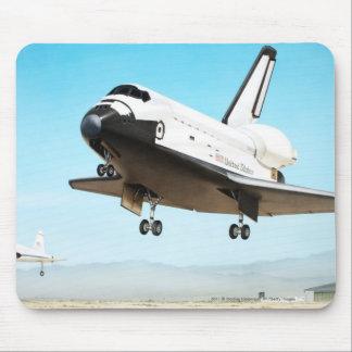 Digital illustration of Space Shuttle Mouse Mat