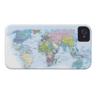 Digital illustration of the world in 1900 iPhone 4 covers