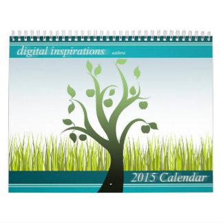 Digital Inspirations-Nature 2015 Calendar