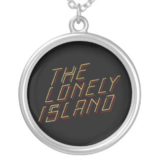 Digital Island Silver Plated Necklace