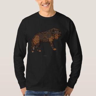 Digital Kaleidoscope Staring Wolf T-Shirt