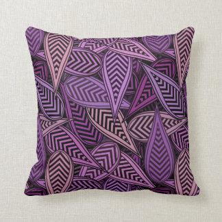 Digital Leaves Decorative Pillow