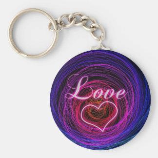 digital love key chains