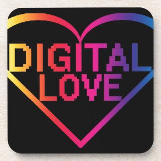 digital love RBG Drink Coasters
