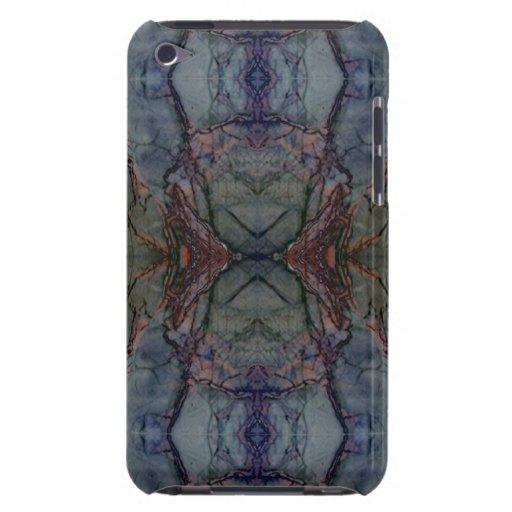 Digital Marble Blue Cast Pattern iPod Case iPod Case-Mate Cases