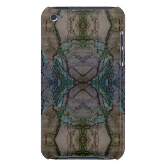 Digital Marble Purple Cast Pattern iPod Case Barely There iPod Cases