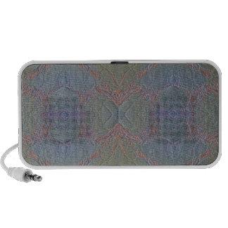Digital Marble Shiny Blue Horizontal Speakers