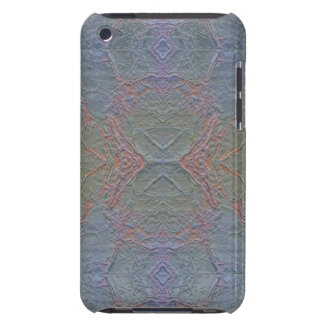 Digital Marble Shiny Blue Pattern iPod Case iPod Touch Cover