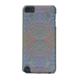 Digital Marble Shiny Blue Pattern iPod Case iPod Touch (5th Generation) Case