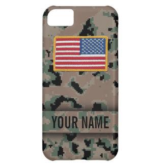 Digital Marine Style Camouflage iPhone Case