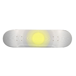 Digital Minimalist Sunshine Skate Board Deck