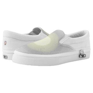Digital Minimalist Sunshine Slip On Shoes