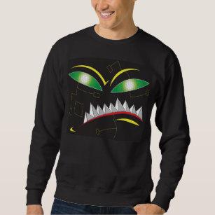 digital monster sweatshirt