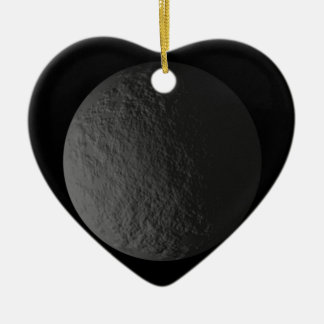 Digital Moon Christmas Ornament