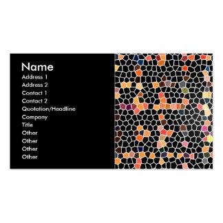 Digital Mosaics Pack Of Standard Business Cards