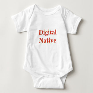 Digital Native baby grow Baby Bodysuit