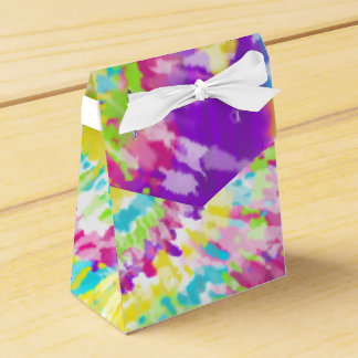 Digital Neon Tie Dye Favour Box