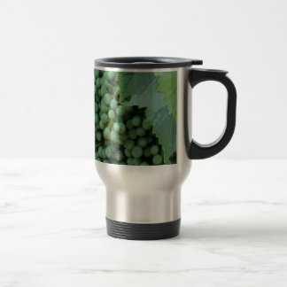 Digital Painted Grapes Mug