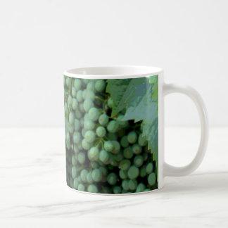 Digital Painted Grapes Coffee Mugs