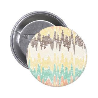 Digital painting 6 cm round badge