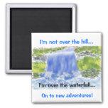 Digital Painting_Waterfall Magnet