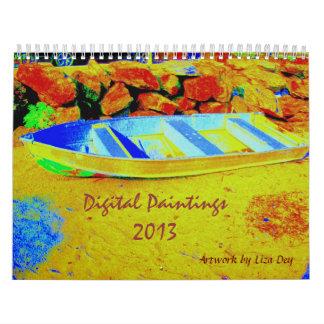 Digital Paintings 2013 Calendar