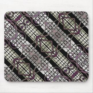 Digital Photo Collage Pattern Mousepad