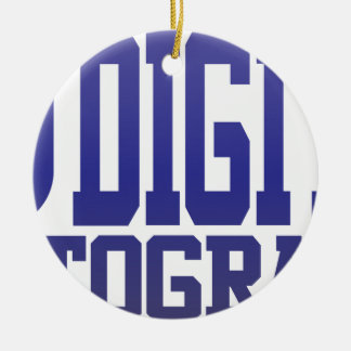 Digital Photography Christmas Ornament