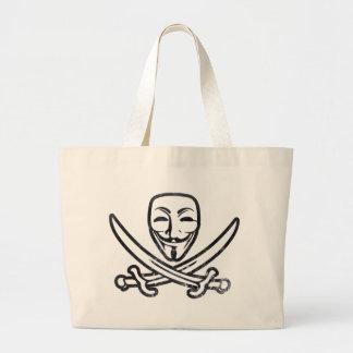 Digital Pirates Canvas Bags