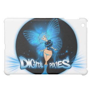 Digital Pixies Blue pixie - ® Fitted™Hard She iPad Mini Covers