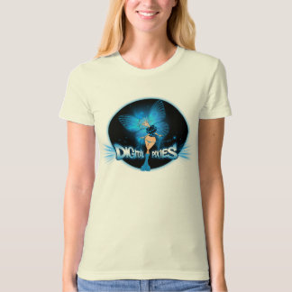 Digital Pixies Blue Pixie - Ladies Organic T-Shirt