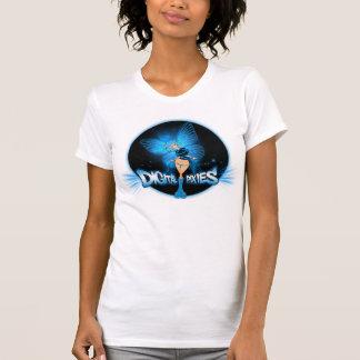 Digital Pixies Blue Pixie - Ladies Petite T-Shirt