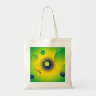 Digital Pop Art Flag Colors of Brazil Tote Bag