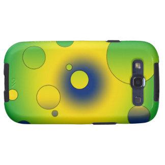 Digital Pop Art Flag Colors of Brazil Samsung Galaxy S3 Cases
