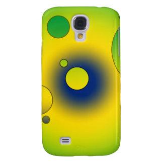 Digital Pop Art Flag Colors of Brazil Samsung Galaxy S4 Covers