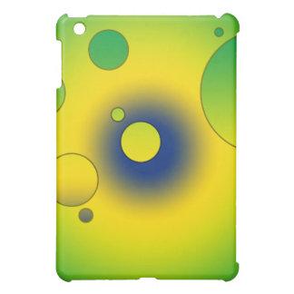 Digital Pop Art Flag Colors of Brazil iPad Mini Cover