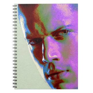 digital portrait man miller notebooks