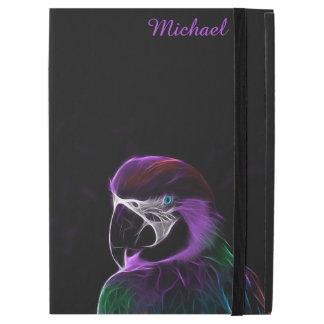Digital purple parrot fractal