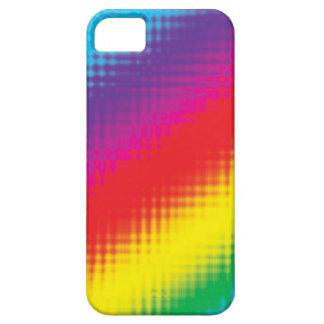 Digital Rainbow Lines iPhone 5 Cases