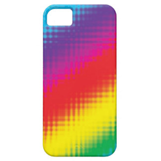 Digital Rainbow Lines iPhone 5 Cover