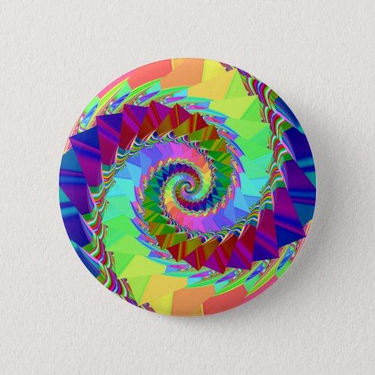 Digital Rainbow Spiral button