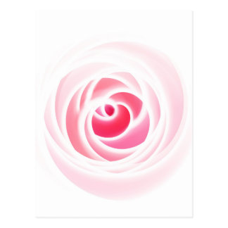 Digital Rose blossom created by Tutti Post Card