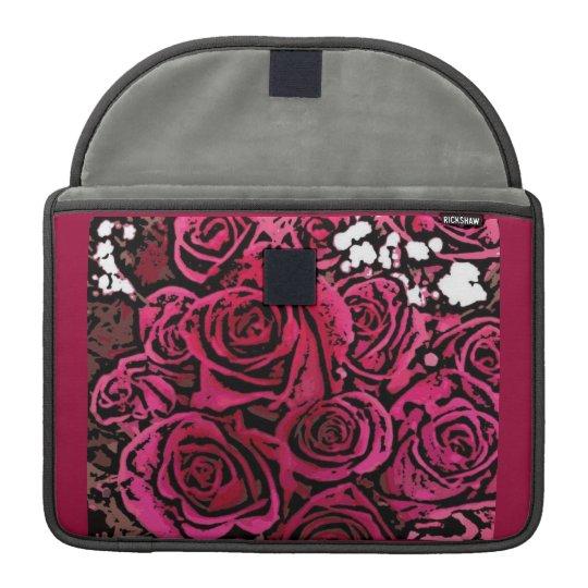 Digital Roses Macbook Sleeve MacBook Pro Sleeves