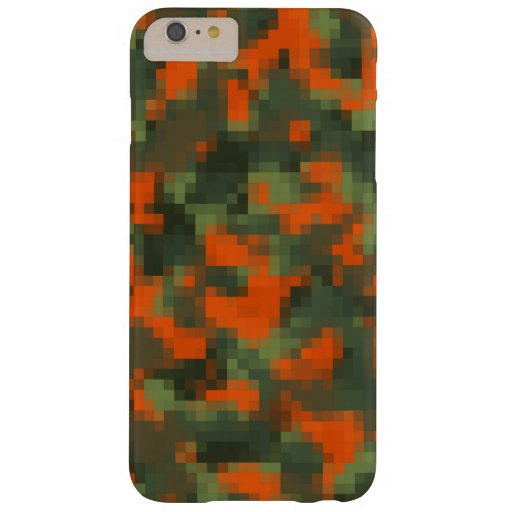 Digital Safety Camo Barely There iPhone 6 Plus Case