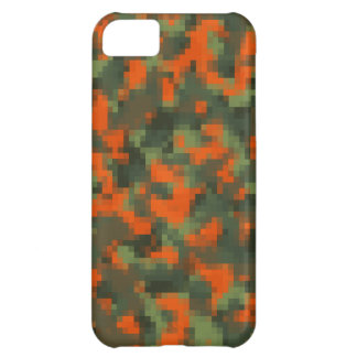 Digital Safety Camo Case For iPhone 5C