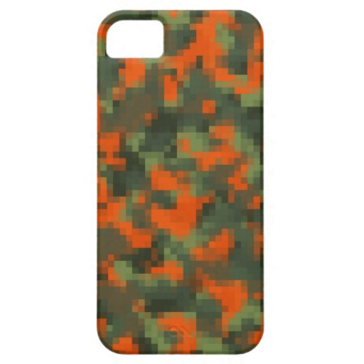 Digital Safety Camo iPhone 5 Covers