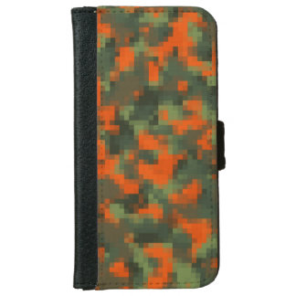 Digital Safety Camo iPhone 6 Wallet Case