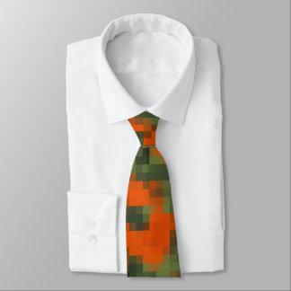 Digital Safety Camo Tie